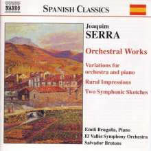 Joaquim Serra (1907-1957): Orchesterwerke, CD