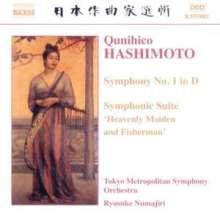 Qunihico Hashimoto (1904-1949): Symphonie Nr.1, CD