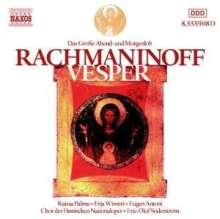 Sergej Rachmaninoff (1873-1943): Das große Abend- und Morgenlob op.37, CD