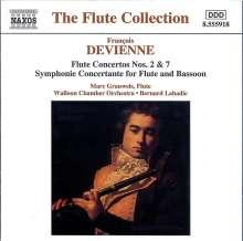 Francois Devienne (1759-1803): Flötenkonzerte Nr.2 & 7, CD
