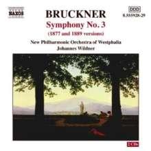 Anton Bruckner (1824-1896): Symphonie Nr.3, 2 CDs