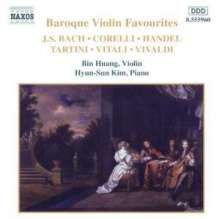 Bin Huang - Baroque Violin Favourites, CD