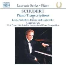 Antti Siirala spielt Schubert-Transkriptionen, CD