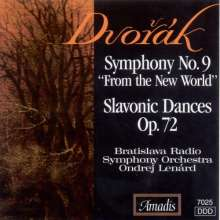 Dvorak / Lenard / Brati: Symphony 9: New World / Slavon, CD