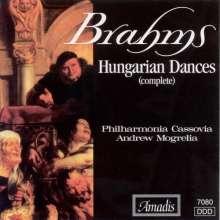 Johannes Brahms (1833-1897): Hungarian Dances (Comp), CD