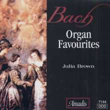 J. Bach / Brown: Organ Favorites, CD