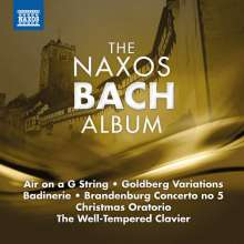 The Naxos Bach Album, CD