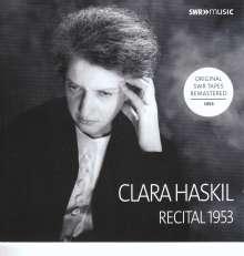 Clara Haskil - Recital Ludwigsburg 1953, CD