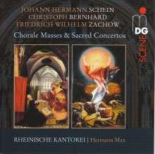 Rheinische Kantorei - Chorale Masses & Sacred Concertos, CD