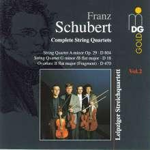 Franz Schubert (1797-1828): Sämtliche Streichquartette Vol.2, CD