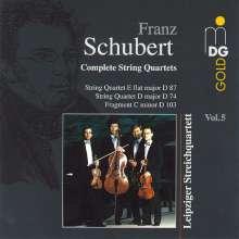 Franz Schubert (1797-1828): Sämtliche Streichquartette Vol.5, CD