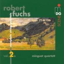 Robert Fuchs (1847-1927): Sämtliche Streichquartette Vol.2, CD
