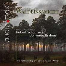 Efa Hoffmann & Edward Rughton - Waldeinsamkeit  (Lieder & Klavierstücke von Schumann & Brahms), CD