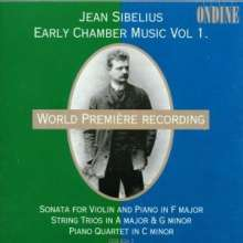 Jean Sibelius (1865-1957): Klavierquartett in c, CD