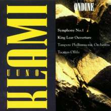 Uuno Klami (1900-1961): Symphonie Nr.1, CD
