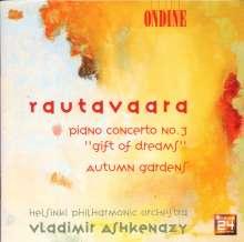 "Einojuhani Rautavaara (geb. 1928): Klavierkonzert Nr.3 ""Gift of Dreams"", CD"
