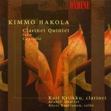 Kimmo Hakola (geb. 1958): Klarinettenquintett, CD