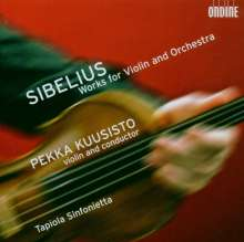 Jean Sibelius (1865-1957): Werke für Violine & Orchester, SACD