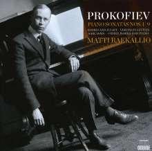 Serge Prokofieff (1891-1953): Klaviersonaten Nr.1-9, 4 CDs