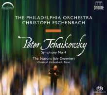 Peter Iljitsch Tschaikowsky (1840-1893): Symphonie Nr.4, SACD