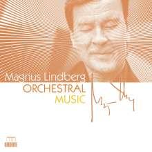 Magnus Lindberg (geb. 1958): Orchesterwerke, 4 CDs