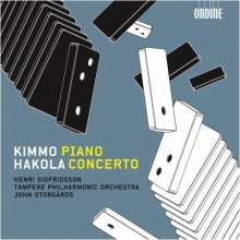 Kimmo Hakola (geb. 1958): Klavierkonzert, CD