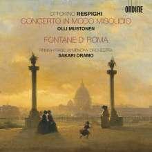 "Ottorino Respighi (1879-1936): Klavierkonzert ""In modo misolidio"", CD"