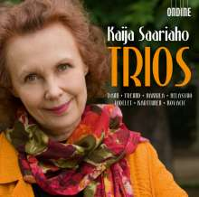 Kaija Saariaho (geb. 1952): Trios, CD
