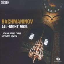 Sergej Rachmaninoff (1873-1943): Das große Abend- und Morgenlob op.37, SACD