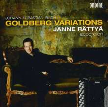 Johann Sebastian Bach (1685-1750): Goldberg-Variationen BWV 988 für Akkordeon, CD