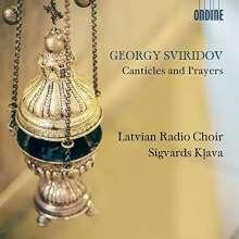 """Georgi Sviridov (1915-1998): Chorwerke """"Canticles and Prayers"""", CD"""