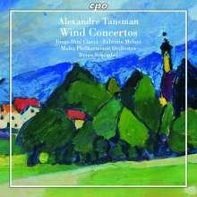 Alexandre Tansman (1897-1986): Bläserkonzerte, CD