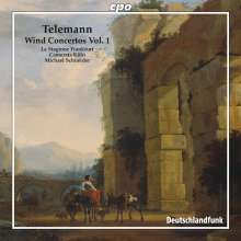 Georg Philipp Telemann (1681-1767): Bläserkonzerte Vol.1, CD