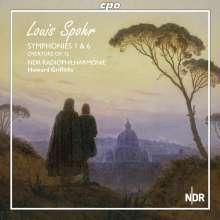 Louis Spohr (1784-1859): Symphonien Nr.1 & 6, SACD