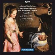 """Johann Mattheson (1681-1764): Weihnachtsoratorium """"Die heilsame Geburt"""", CD"""