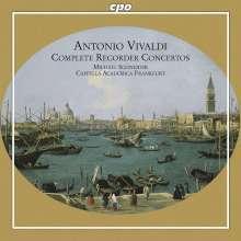 Antonio Vivaldi (1678-1741): Blockflötenkonzerte RV 108,441-445, CD