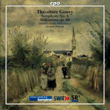 Louis Theodore Gouvy (1819-1898): Symphonien Vol.2, CD