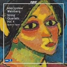 Mieczyslaw Weinberg (1919-1996): Streichquartette Vol.4, CD