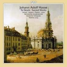 Johann Adolph Hasse (1699-1783): Te Deum D-Dur, CD