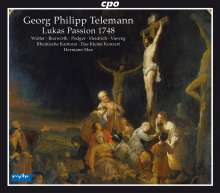 Georg Philipp Telemann (1681-1767): Lukas Passion (1748), 2 CDs