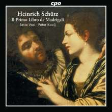 Heinrich Schütz (1585-1672): Italienische Madrigale SWV 1-19, CD