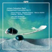 Johann Sebastian Bach (1685-1750): Cembalokonzerte Vol.3, 2 CDs