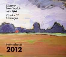 CPO-Gesamtkatalog 2012 + Rosetti-CD, CD