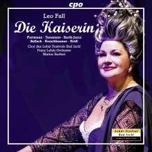 Leo Fall (1873-1925): Die Kaiserin, 2 CDs