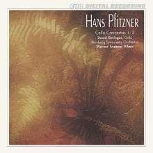 Hans Pfitzner (1869-1949): Die 3 Cellokonzerte, CD