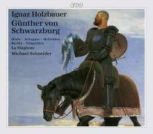 Ignaz Holzbauer (1711-1783): Günther von Schwarzburg, 3 CDs