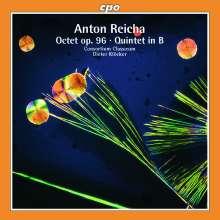 Anton Reicha (1770-1836): Oktett für Oboe, Klarinette, Horn & Streicher op.96, CD
