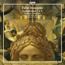 Felix Draeseke (1835-1913): Symphonien Nr.1 & 4, CD