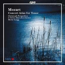 Wolfgang Amadeus Mozart (1756-1791): Konzertarien für Tenor, CD