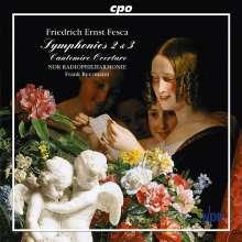 Friedrich Ernst Fesca (1789-1826): Symphonien Nr.2 & 3, CD